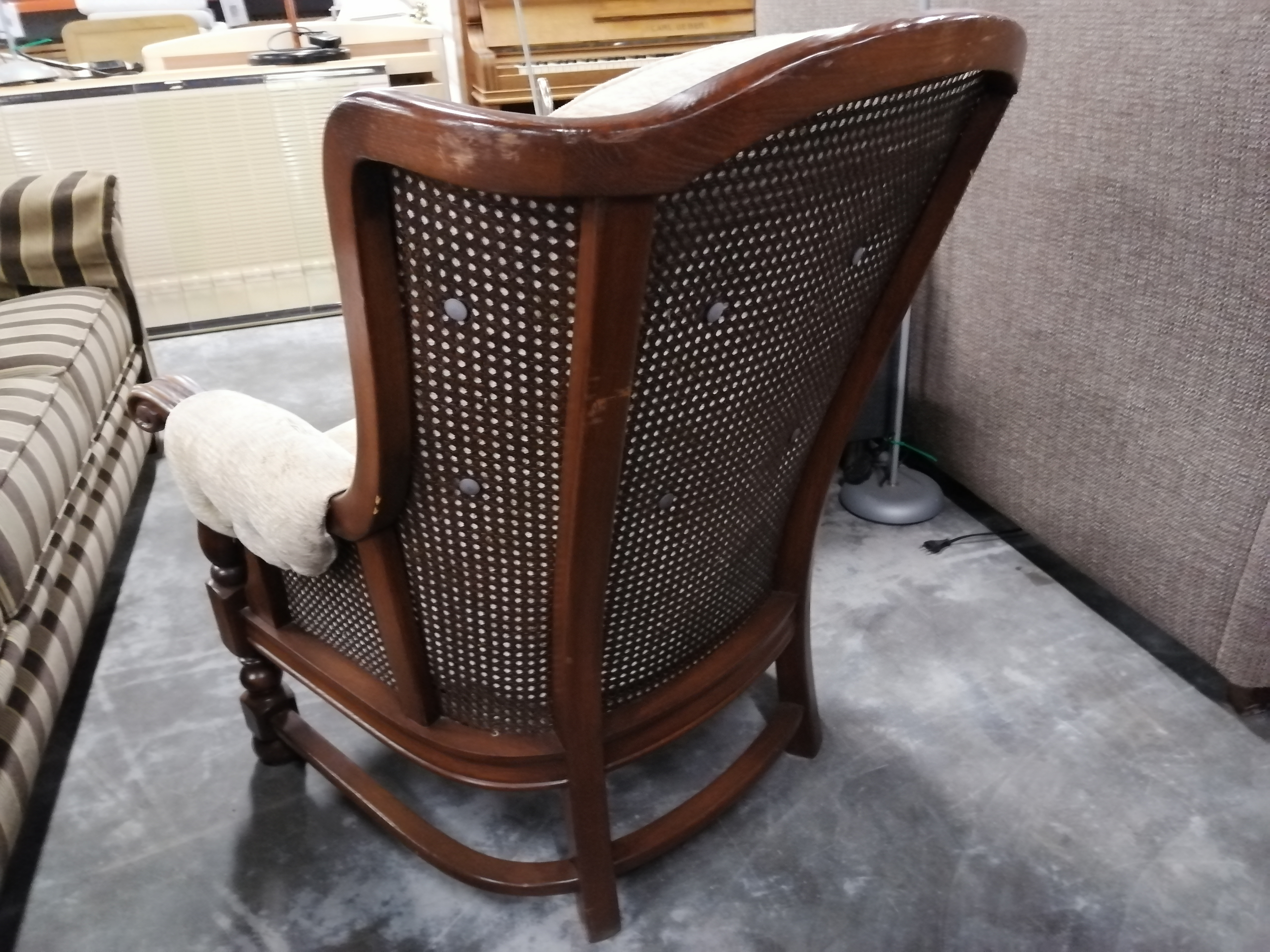Afbeelding 2 (4505) Stoffen fauteuil
