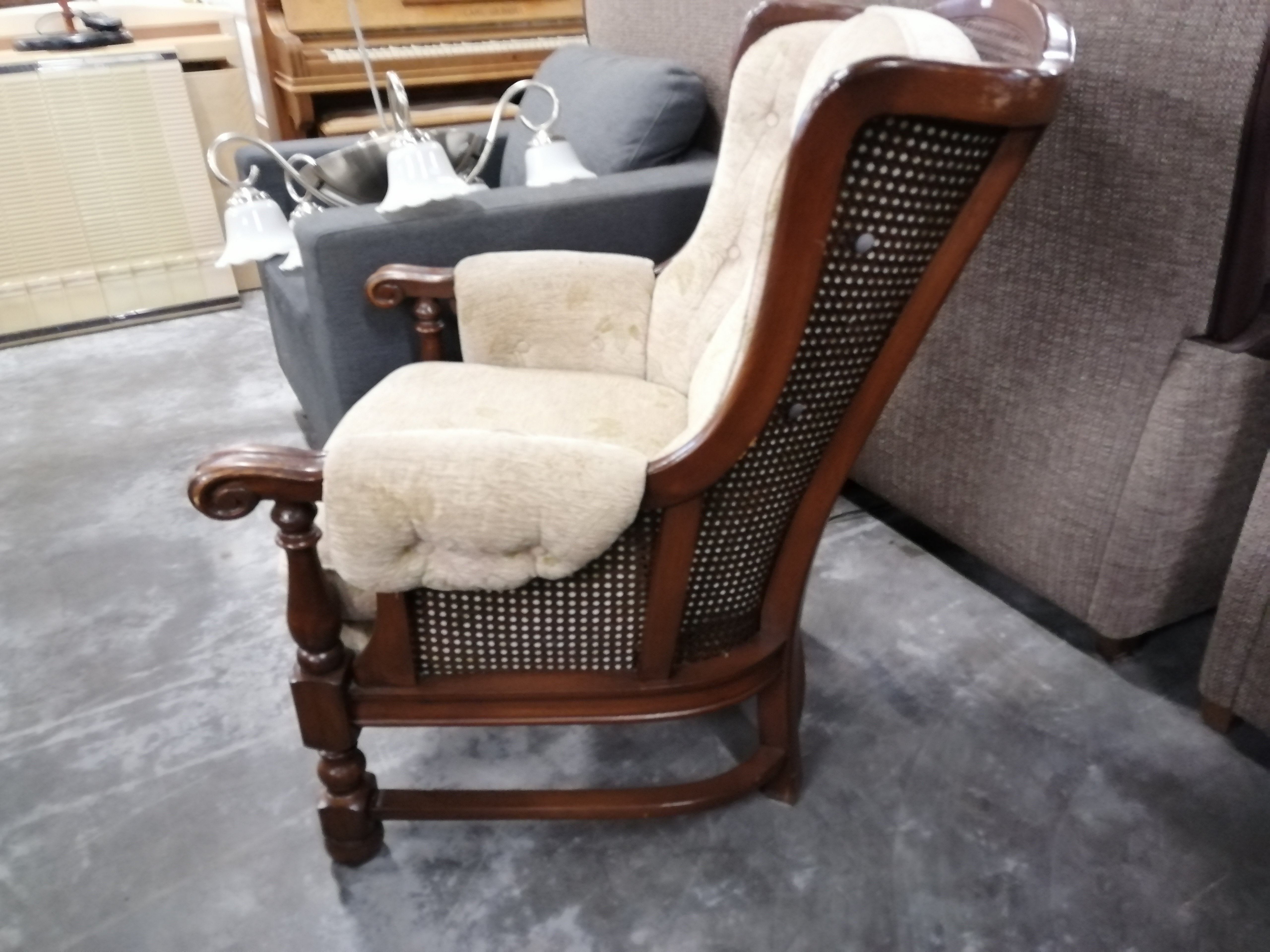 Afbeelding 4 (4505) Stoffen fauteuil